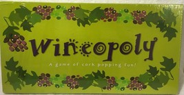 New Wineopoly Wine-Opoly Monopoly Board Game Property Trading Cork Poppi... - $19.68