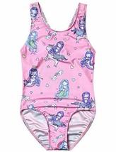 Girl Bathing Suit Unicorn Mermaid Swimsuit One Piece Teen Rainbow Swimwe... - $22.53