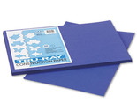 Pacon Tru-Ray Construction Paper,  12 x 18, Royal Blue, 2 Packs of 50 Sheets