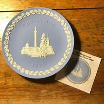 Vintage 1970 Wedgewood London Christmas Plate - $9.90
