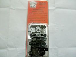 Kadee # 502 Bettendorf 50 Ton Metal Trucks With #148 Whisker Couplers 1 Pair (HO image 1