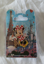 Disneyland Paris Pin Mini Eiffel Tower New Mint NIP Disney - $18.00