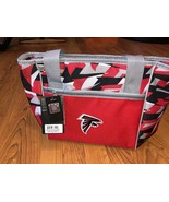 NFL Atlanta Falcons 16 Can Cooler Tote Front Dry Storage Pocket RED New - $17.10