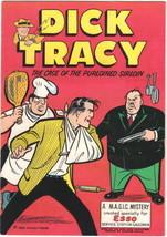 Dick Tracy Esso Giveaway Comic Book, Harvey 1958 Very FINE/NEAR Mint Unread - $23.14