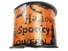 "Momentum Halloween 2.5"" Wire Ribbon, 3 Feet image 1"