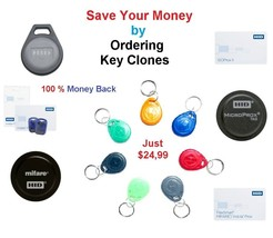 Access RFID Create Key Copy Duplicate Clone HID INDALA EM-Marine Urmet M... - $18.69