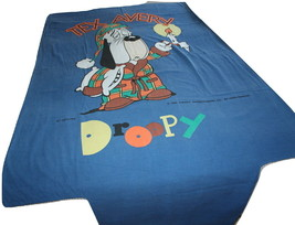 Tex Avery Droopy Duvet Cover European Release Twin Bed Bedding Belltex - $17.35