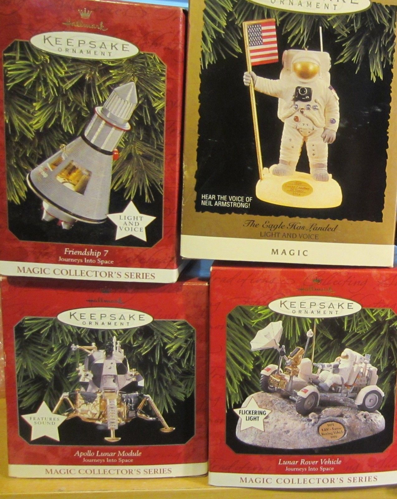 Primary image for Hallmark Keepsake Ornaments Space - Apollo Lunar  Journey into space - NIB