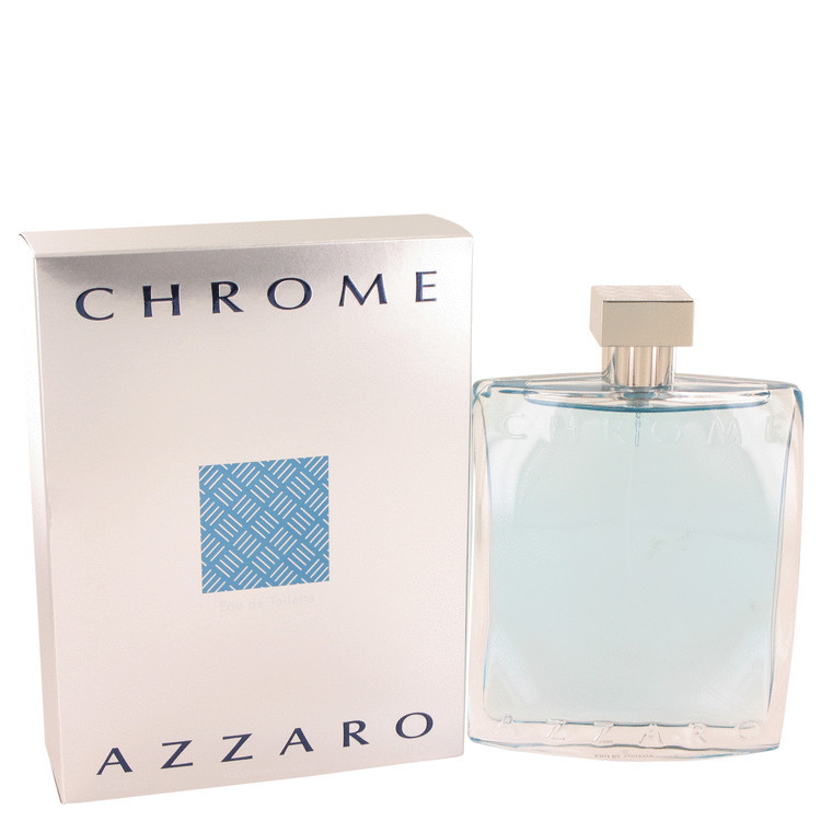 Azzaro Chrome Cologne 6.8 Oz Eau De Toilette Spray