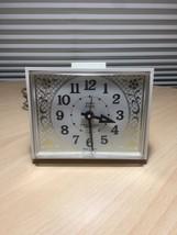 Vintage 70s Westclox Dialite Drowse Electric Alarm Clock