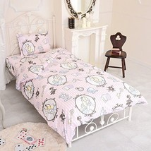 Disney Alice in Wonderland bed cover three-piece set For a single bed PINK JP - $64.41