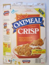 Empty GENERAL MILLS Cereal Box 1990 OATMEAL CRISP 18.5 oz Ser 3Z - $10.83
