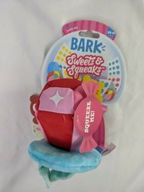 Bark Box Sweet Squeaks Candy Dog Toy Ring Pup Pop XS-M  - £7.04 GBP