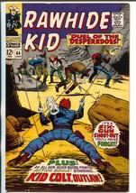Rawhide Kid #64 1968-Marvel-Kid Colt-Leiber-Trimpe-Kurzrok-VF+ - $88.27