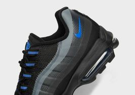 Nike Air Max 95 Ultra Se Black / Grey /Blue Premium Trainers / Shoes image 3