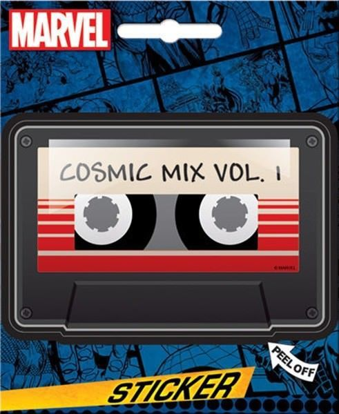 Primary image for Guardians of the Galaxy Cosmic Mix Vol. 1 Peel Off Sticker Decal NEW SEALED