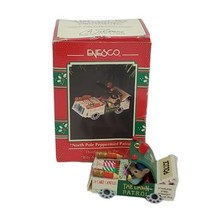 Vintage 1992 Enesco Ornament North Pole Peppermint Patrol Bits & Pieces ... - $24.99