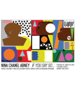 NINA CHANEL ABNEY Limited Edition Print Street Exhibition Poster RARE SO... - $1,154.00