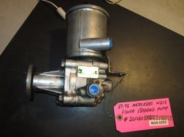 87 88 89 90 91 92 Mercedes W210 Power Steering Pump #2014602180 *Description* - $124.05