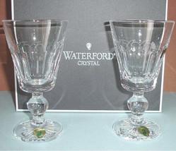 Waterford Grafton Street Bolton White Wine Set of 2 Glasses 8 oz. #14377... - $138.90