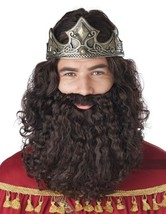 California Costumi Biblica King Uomo Parrucca e Barba Set Halloween 70216 - $24.50 CAD