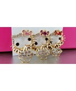 Hello Kitty Crystal Pins 3 colors to choose from Free Standard Shipping - $6.00