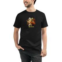 Broken Gears Black Unisex Organic T-Shirt Eco Friendly Sustainable Men W... - $31.68+