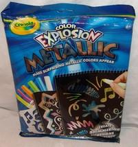 Crayola Color Explosion Metallic Set New Unopened Craft - $17.89