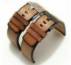Watch Band Strap Bracelet Fit Diesel Genuine Leather Replacement Belt 22... - $19.79