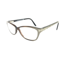 TOM FORD TF5142 050 Eyeglasses Frame Italy 54-15-135 Brown Crystal/Olive... - $79.99