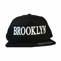 Brooklyn Brand New York Snapback Schwarz Hut - £26.70 GBP