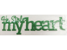"""Queen & Co. Headliners Self-Adhesive Title """"He Stole My Heart"""" #HL1629 image 2"""