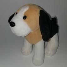 Circo Tan Black White Puppy Dog Plush Lovey Stuffed Animal Adventure Toy 2012 - $39.55