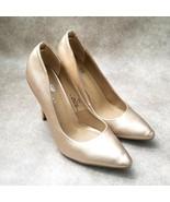 Riverberry Womens Gaby01 Sz 8.5 M Rosegold Slip On High Heels Pump - $26.99