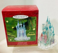 2001 Cinderellas Castle Hallmark Christmas Tree Ornament MIB Tag - $28.22