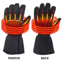 Battery Powered Heated Gloves for Men and Women, Waterproof Insulated El... - $40.39