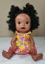 Baby Alive Doll Soft Face Interactive Talks Ethnic Black Hispanic 2014 A... - $62.99