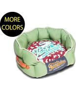 Rabbit-Spotted Premium Circular Rounded Designer Fashion Pet Dog Bed Beds - $62.99