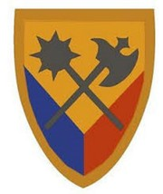 US Army 194th Armored Brigade Sticker Military Armed Forces 12'' Sticker - $24.74
