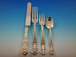 King George by Gorham Sterling Silver Flatware Set 12 Service 48 pc Dinn... - $3,750.00