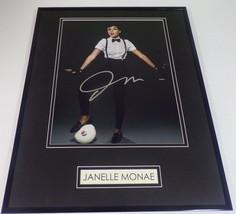 Janelle Monae Signed Framed 16x20 Pepsi Soccer Photo Display - $140.24