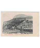 Casemates & North Part of Town Gibraltar United Kingdom UK 1905c postcard - $5.94
