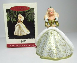 1994 Collectors Series Holiday Barbie Hallmark Keepsake Ornament Christmas #2 - $8.59