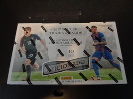 2017 Panini Aficionado Soccer Hobby Box Factory Sealed 10 Packs Per Box NEW - $76.49