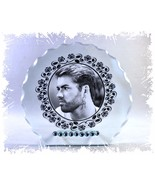 George Michael diamante Round Plaque gift for any occasion perfect memen... - $32.44