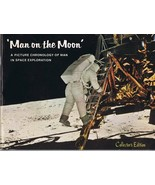 VINTAGE 1969 Man on the Moon Picture Chronology Book by Galina - $9.49