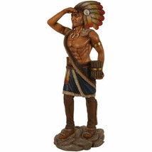 """72.5"""" Tobacco Cigar Store Indian LifeSize Native American Statue Collect... - $726.53"""
