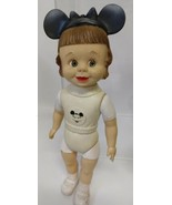 """1956 Mickey Mouse Club Official Mouseketeer Doll. Disney M12-C Vinyl. 12"""" - $75.00"""