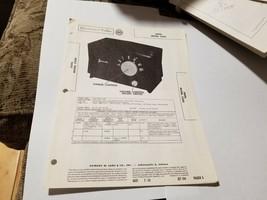 Vintage Photofact Folder Parts Manual - b1 - Jewel Model 5200 - $6.92