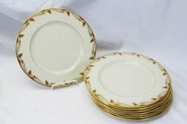 "Lenox Essex Dinner Plates 10.5"" Lot of 9 - $97.02"
